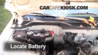 Battery Replacement: 1992-1995 Honda Civic