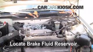Add Brake Fluid: 1992-1995 Honda Civic