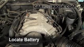 How to Clean Battery Corrosion: 1996-2000 Nissan Pathfinder
