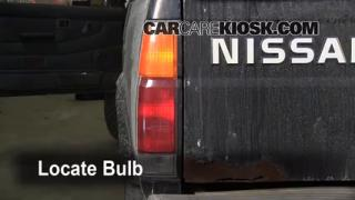 1995 Nissan Pickup XE 3.0L V6 Extended Cab Pickup Lights Tail Light (replace bulb)