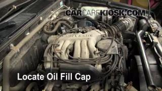 How to Add Oil Nissan Pathfinder (1996-2000)