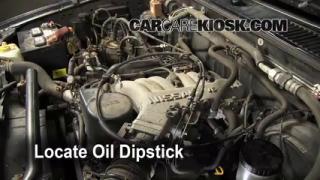Check Oil Level 1996-2000 Nissan Pathfinder