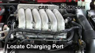 1996 Dodge Avenger ES 2.5L V6 Air Conditioner Recharge Freon