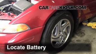 1996 Dodge Stratus ES 2.4L 4 Cyl. Battery Clean Battery & Terminals