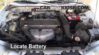 1996 Mitsubishi Eclipse RS 2.0L 4 Cyl. Battery Replace