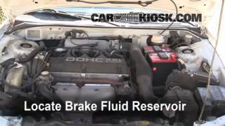 Add Brake Fluid: 1995-1999 Mitsubishi Eclipse