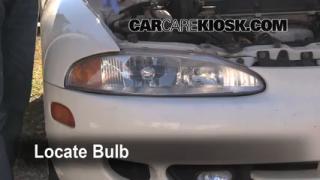 Highbeam (Brights) Change: 1995-1999 Mitsubishi Eclipse