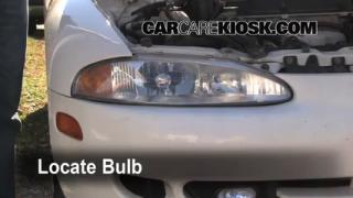 Parking Light Change 1995-1999 Mitsubishi Eclipse