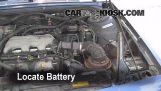 How to Clean Battery Corrosion: 1990-1997 Oldsmobile Cutlass Supreme