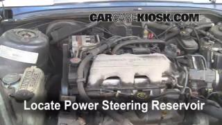 Follow These Steps to Add Power Steering Fluid to a Oldsmobile Cutlass Supreme (1990-1997)