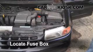 Replace a Fuse: 1996-2000 Plymouth Breeze