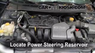 Follow These Steps to Add Power Steering Fluid to a Plymouth Breeze (1996-2000)