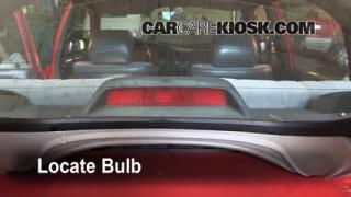 Third Brake Light Bulb Change Geo Prizm (1993-1997)