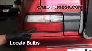 1996 Toyota Corolla 1.6L 4 Cyl. Lights Tail Light (replace bulb)