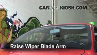 Front Wiper Blade Change Geo Prizm (1993-1997)
