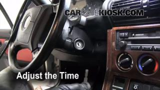 How to Set the Clock on a BMW Z3 (1996-2002)