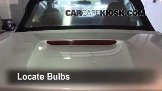 Third Brake Light Bulb Change BMW Z3 (1996-2002)