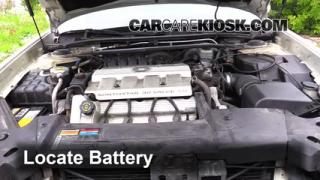 Battery Replacement: 2000-2005 Cadillac DeVille