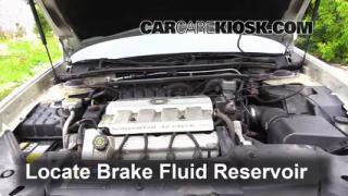 Add Brake Fluid: 2000-2005 Cadillac DeVille