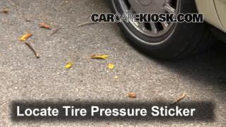 1997 Cadillac DeVille 4.6L V8 Sedan Tires & Wheels Check Tire Pressure