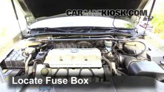 Blown Fuse Check 2000-2005 Cadillac DeVille