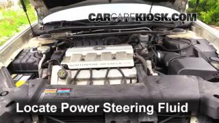 Check Power Steering Level Cadillac DeVille (2000-2005)