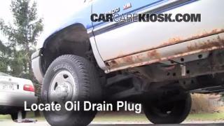 Oil & Filter Change Dodge Ram 2500 (1994-2002)