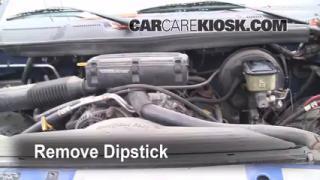 1997 Dodge Ram 2500 5.9L V8 Standard Cab Pickup Fluid Leaks Oil (fix leaks)