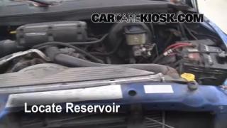 Check Windshield Washer Fluid Dodge Ram 2500 (1994-2002)