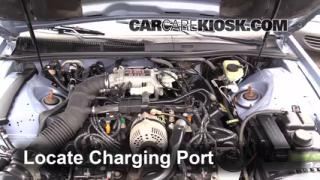 1997 Ford Thunderbird LX 4.6L V8 Air Conditioner Recharge Freon