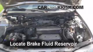 1994-1997 Honda Accord Brake Fluid Level Check