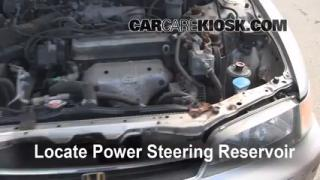 Follow These Steps to Add Power Steering Fluid to a Honda Accord (1994-1997)