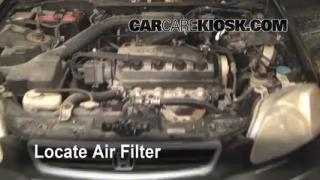 1997 Honda Civic LX 1.6L 4 Cyl. Air Filter (Engine) Replace