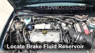 1997-2003 Ford Escort Brake Fluid Level Check