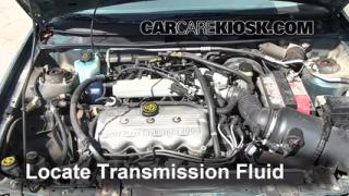 1997 Mercury Tracer LS 2.0L 4 Cyl. Sedan Fluid Leaks Transmission Fluid (fix leaks)