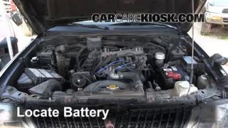 How to Clean Battery Corrosion: 1997-2004 Mitsubishi Montero Sport
