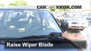 1997 Mitsubishi Montero Sport XLS 3.0L V6 Windshield Wiper Blade (Front) Replace Wiper Blades