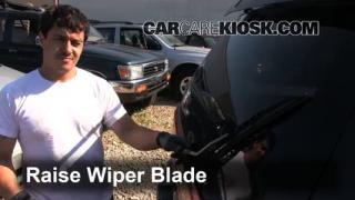 1997 Mitsubishi Montero Sport XLS 3.0L V6 Windshield Wiper Blade (Rear) Replace Wiper Blade