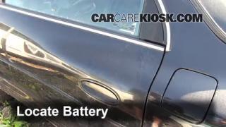 1997 Oldsmobile Aurora 4.0L V8 Battery Replace
