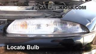 Highbeam (Brights) Change: 1995-1999 Oldsmobile Aurora