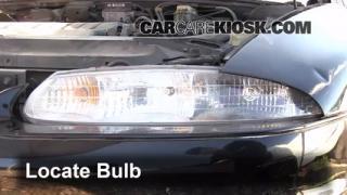 Front Turn Signal Change Oldsmobile Aurora (1995-1999)