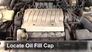 How to Add Oil Oldsmobile Aurora (1995-1999)