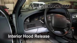 Open Hood How To 1992-1998 Buick Skylark