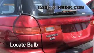 Brake Light Change 1995-1999 Subaru Legacy