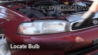 Headlight Change 1995-1999 Subaru Legacy