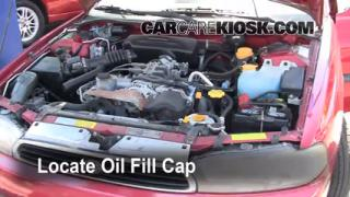 How to Add Oil Subaru Legacy (1995-1999)