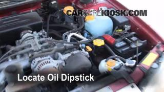 1997 Subaru Legacy L 2.2L 4 Cyl. Wagon Oil Check Oil Level