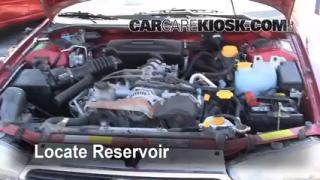 Check Windshield Washer Fluid Subaru Legacy (1995-1999)