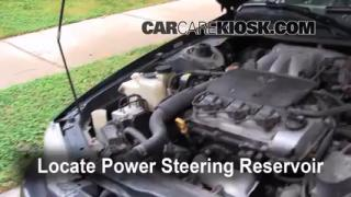 Follow These Steps to Add Power Steering Fluid to a Toyota Camry (1997-2001)