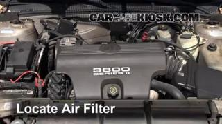 1997-2005 Buick Park Avenue Engine Air Filter Check